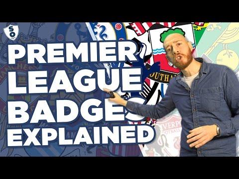BRILLIANT Premier League Badges Explained   Lee Kern