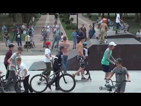 1ч Невинномысск Чемпионат Ставрополья по BMX и самокату в Невинномысске