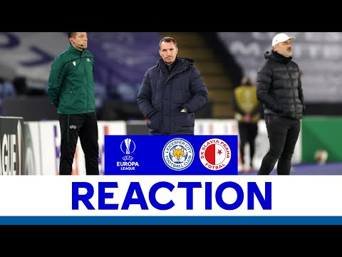 'We'll Learn From This' - Brendan Rodgers | Leicester City 0 Slavia Prague 2