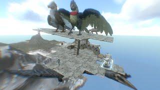 Hidden Sky Base! | Ark Mobile PvP Solo Series S3 #5 |