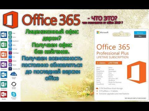 Лицензионный Microsoft Office ДАРОМ? Как получить последнюю версию бесплатно.