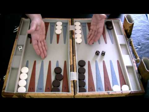 Beginner Backgammon Tutorial - 2 - How to Move the Checkers