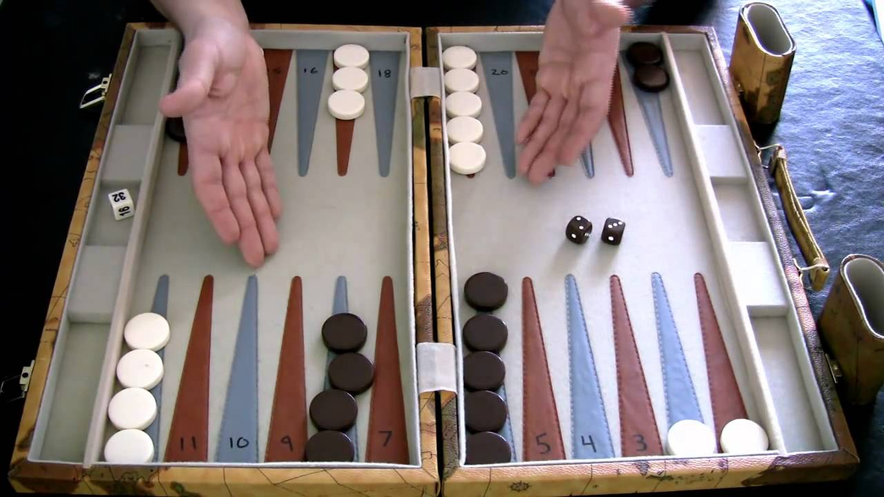 Beginner Backgammon Tutorial 2 How To Move The Checkers Youtube