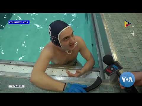 GLOBAL NEWS: Underwater hockey stages a comeback