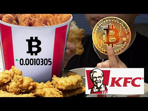We Bought the Limited Time KFC BITCOIN BUCKET with 0.00231 Bitcoin!