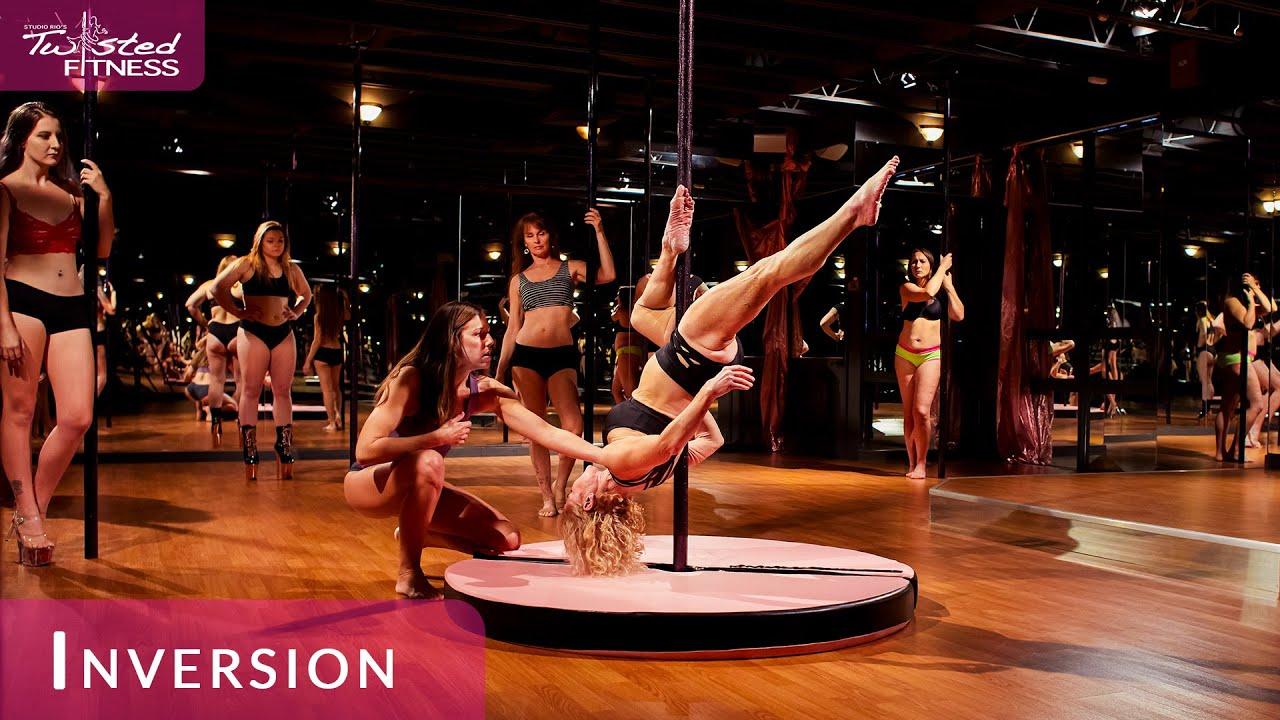 Inversion Slow-Version Pole Dance Class at Studio Rio's ...
