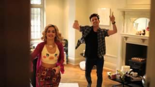 Rita Ora and Grimmy Dance Off