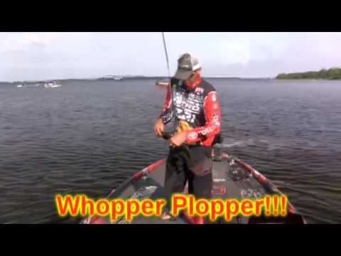Whopper Plopper at Bassmaster Elite Series Toledo Bend 2016