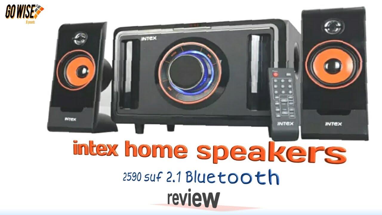 Intex 2590 multimedia speakers 2.1, suf B. unboxing & Review