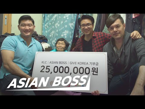 We Gave $25,000 To A Korean Grandma Making $2 A Day | ASIAN BOSS