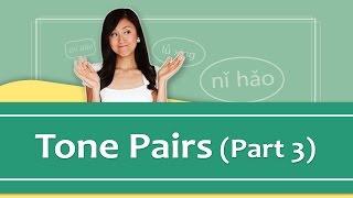 Pinyin Lesson Series #8: Tone Pairs - Part 3 (Mandarin Chinese Pronunciation) | Yoyo Chinese