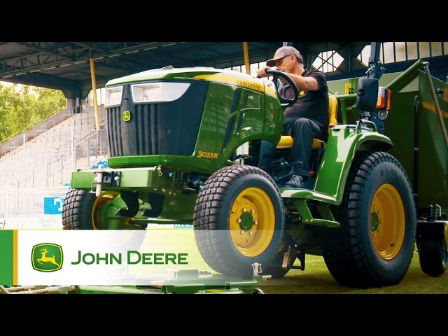 Gama ciągników komunalnych John Deere