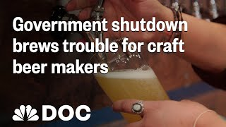 Government Shutdown Brews Trouble For Craft Beer Makers | NBC News