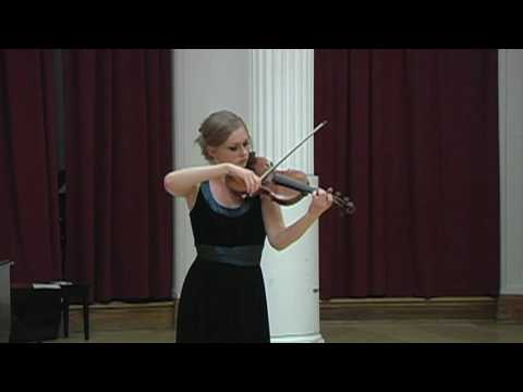 """Menuhin Competition Repertoire 2010: """"One Becomes Two"""" by Steve Antosca"""
