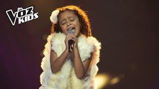Majo canta No Importa la Distancia - Audiciones a ciegas | La Voz Kids Colombia 2018