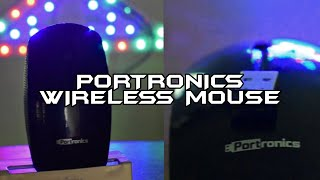 Portronics Quest Wireless mouse Unboxing and Review