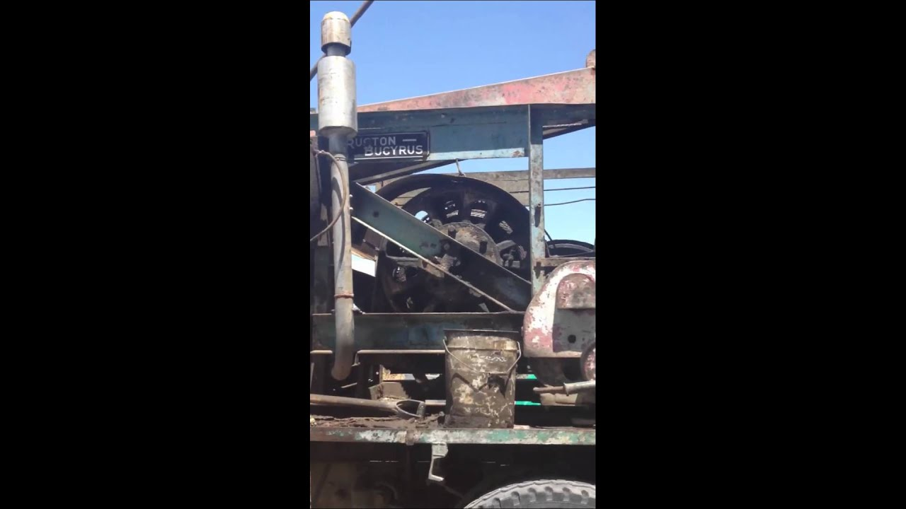 Cable tool rig cleaning borehole doovi for Morocco motors erie pa