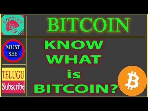 TELUGU- KNOW WHAT IS BITCOIN? - COMPLETE EXPLANATION ABOUT  MINING AND BLOCKCHAIN