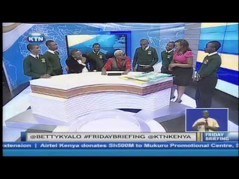 Guest Anchors Rufftone, Daddy Owen and Kakamega high school students