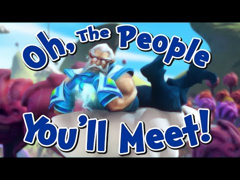 Dr. Zeuss in: Oh, The People You'll Meet! (Dota 2 Short Film Contest)  [ENG/RUS/CHINA SUBS]
