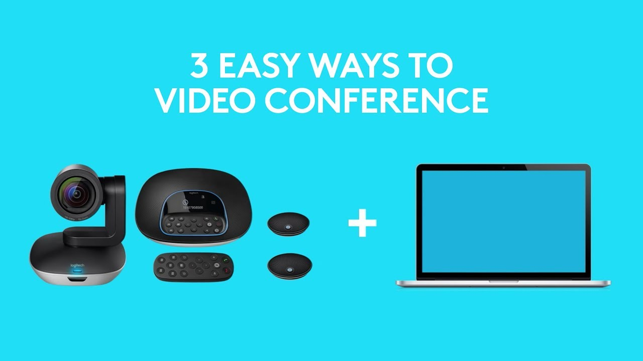 3 easy ways for teams to video conference with logitech