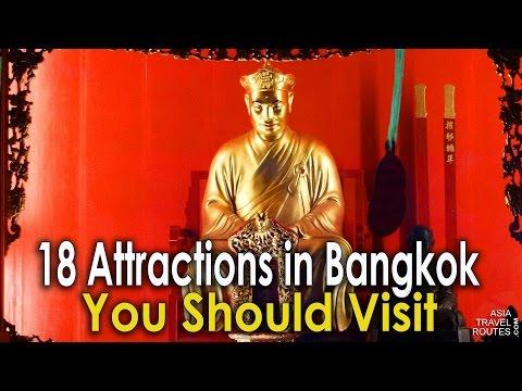 18 Attractions in Bangkok, You Should Visit