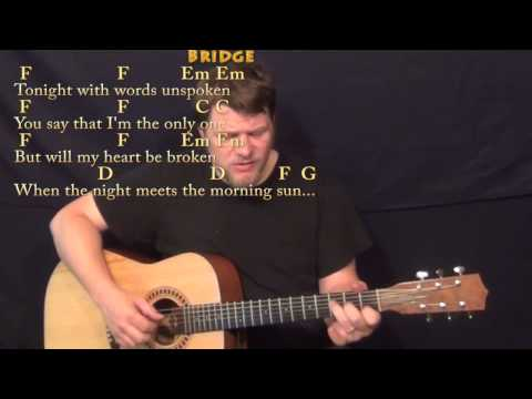 Will You Still Love Me Tomorrow - Fingerstyle Guitar Cover Lesson with Chords/Lyrics