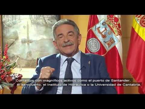 Mensaje navideño de Miguel Ángel Revilla (2018)