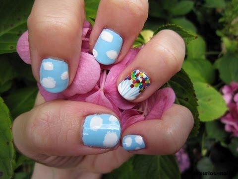 disney movie inspired nail art