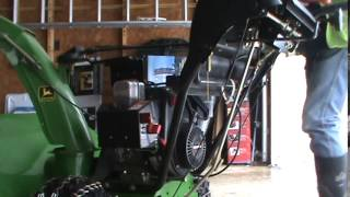 John Deere 828D Walk Behind Self Propelled Snow Blower