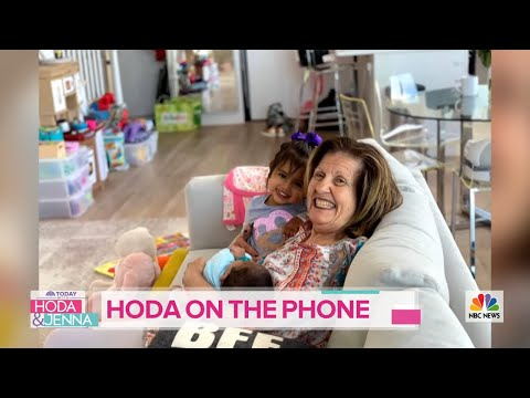 Hoda Kotb Tells Savannah And Jenna Bush Hager About Her Happy Mother's Day | TODAY