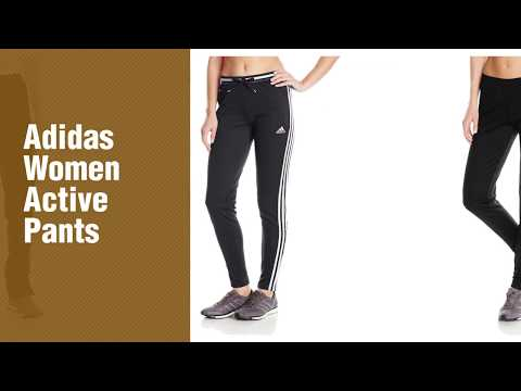 Adidas Women Active Pants, Top 10 Collection  New & Popular 2017