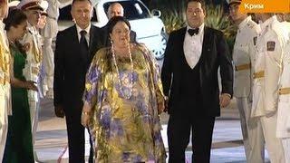 В Крым прилетела императорская семья