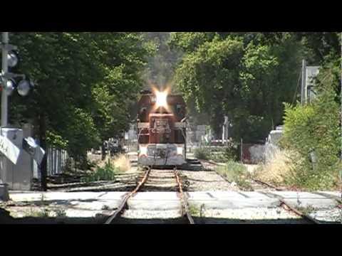 The santa cruz Beach Train
