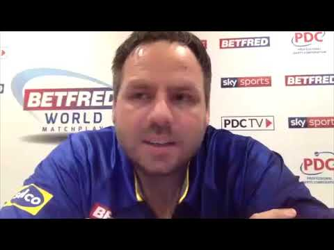 """Adrian Lewis after reaching World Matchplay Quarters: """"I wanted a trilogy with Gerwyn Price!"""""""