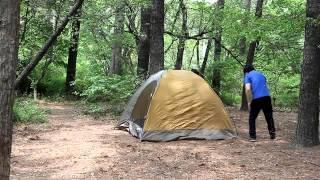 캠프타운 에이스 돔(B/T)(3인용) 설치 동영상