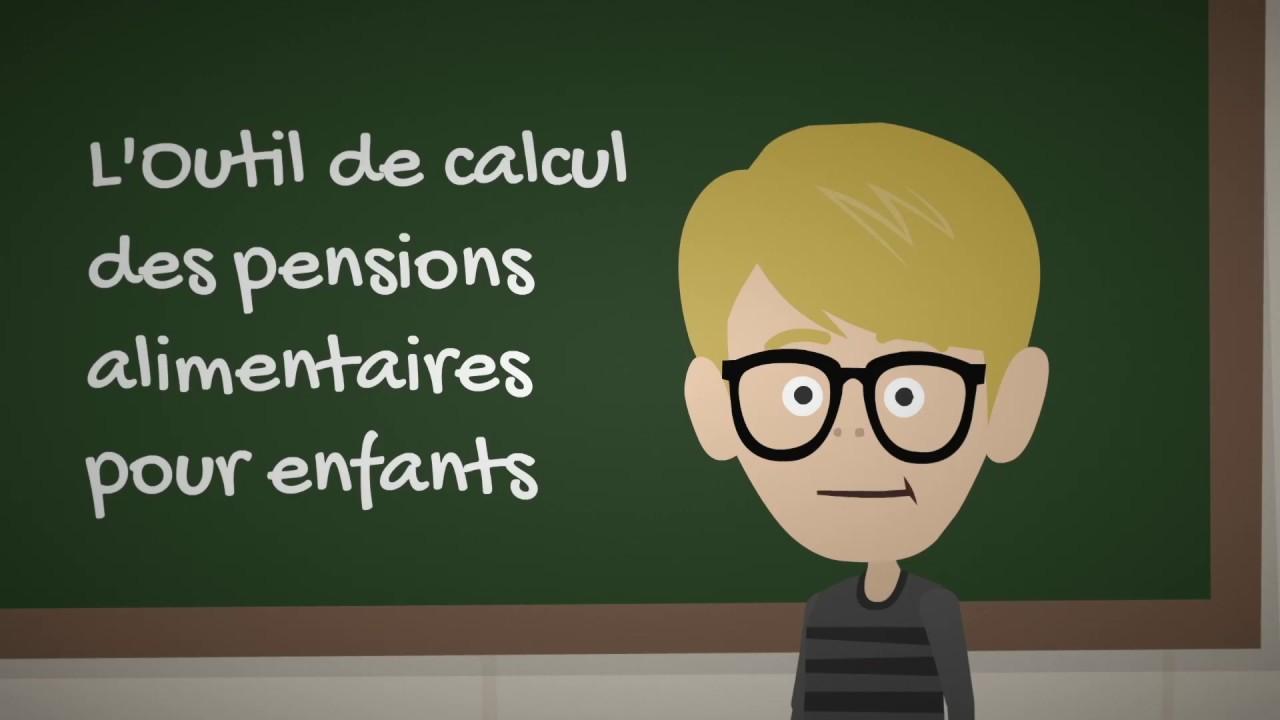 Ministère De La Justice Outil De Calcul Des Pensions