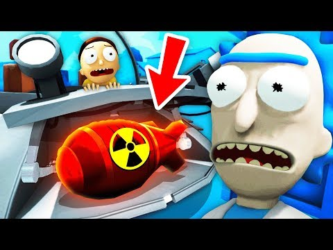 NEW Finding RICK'S SECRET NUKE And DETONATING IT (Rick And Morty: Virtual Rick-Ality Gameplay)
