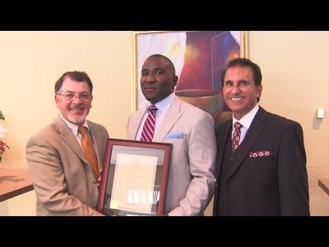 Anthony Thompson Indiana Hall of Fame Induction