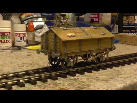O Guage brass wagon kit