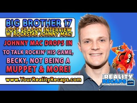 JohnnyMac Rockstar Dentist #BB17 Post Season Interview!