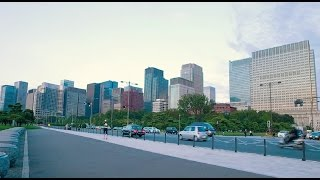 Walk around the moat of Tokyo imperial palace【東京・皇居】
