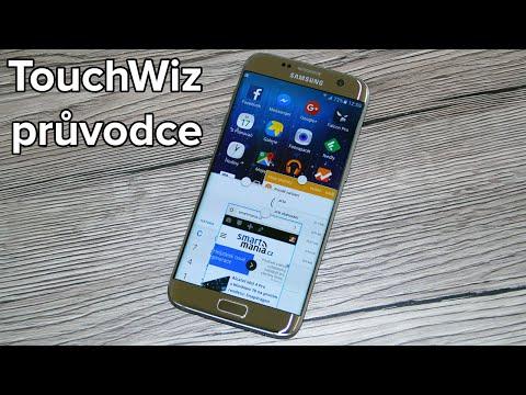 Samsung Galaxy S7 edge: Podrobný průvodce TouchWiz