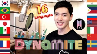 Dynamite (BTS) Multi-Language Cover in 16 Different Languages - Travys Kim