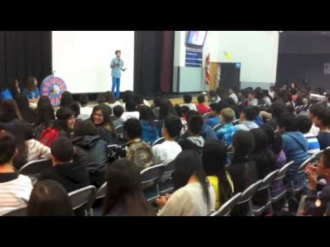 Speech on goal setting-Rancho del Rey Middle School
