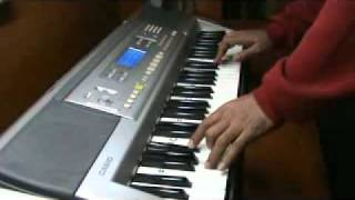 mere mehboob qayamat hogi .. on piano by mmv - film mr. x in bombay
