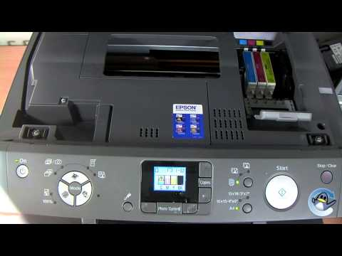 How to Change Ink Cartridges in a Epson Stylus RX520 Printer