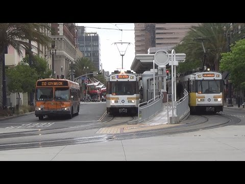 Metro Blue Line 25 Years Of Service, Action In Long Beach With Extra Scenes