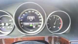Mercedes W 212 E 350 BlueTec 4matic 90 190 Km H 5th Gear No Gear Shift