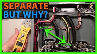 Why Neutrals and Grounds are Separated in a Sub Panel